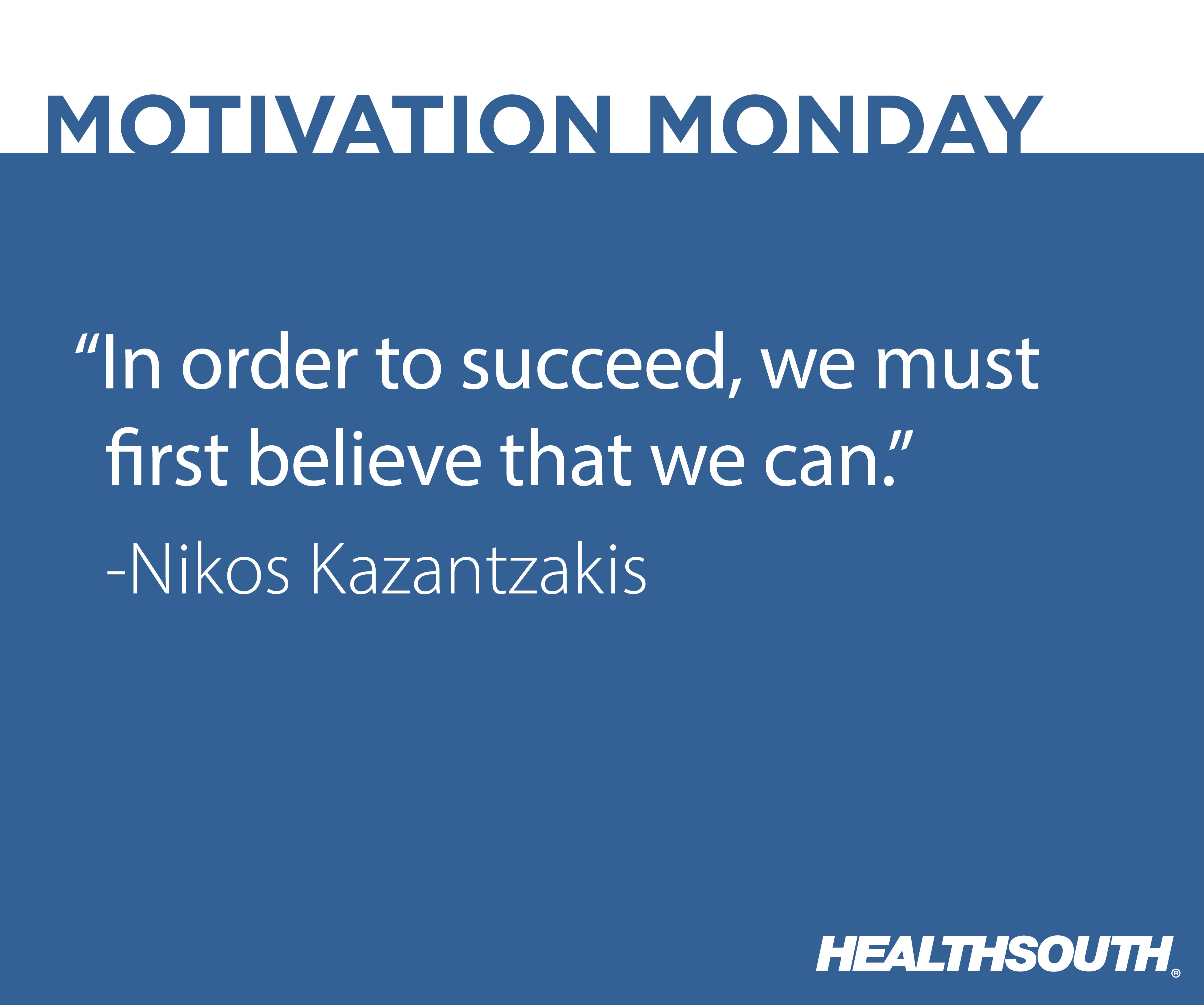 Healthsouth physical therapy - Motivational_monday 02 Png